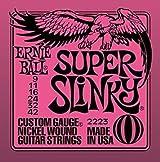 Juego de Cuerdas Ernie Ball 2223 Slinky String para Guitarra  (9 -42)
