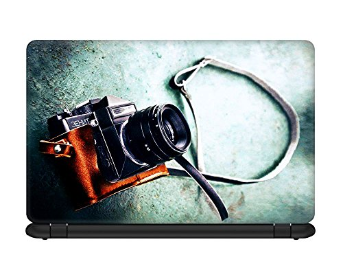 Defunk Vintage Camera Laptop Skin for 15.6 inches laptop [Compatible for Dell,Asus,Lenovo,HP,Samsung,MacBook,Sony,Toshiba etc Laptops]  available at amazon for Rs.195