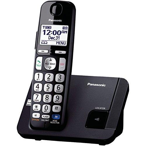 Panasonic KX-TGE210B dect_6.0 1-Handset Landline Telephone (Panasonic Phones 1 Handset compare prices)