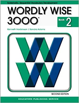 Homework help for wordly wise 3000 book 5