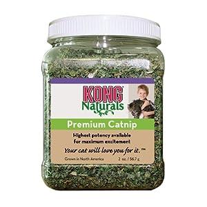 KONG Naturals Premium Catnip, 2-Ounce