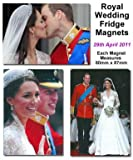 Prince William & Kate Royal Wedding Fridge Magnets