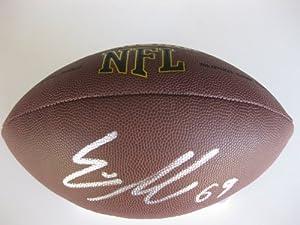 Evan Mathis, Philadelphia Eagles, Alabama, Signed, Autographed, NFL Football, a COA... by Coast to Coast Collectibles