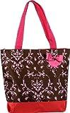 J Garden Designer Print Large Travel Tote Bag 16-inch