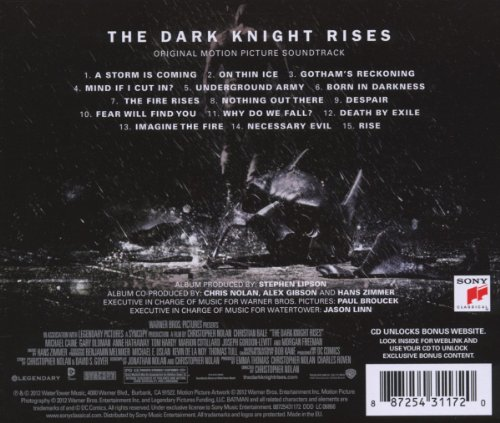 batman the dark knight soundtrack