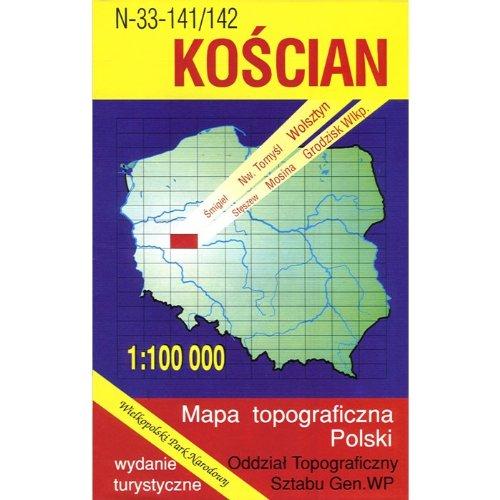 Koscian Region Map