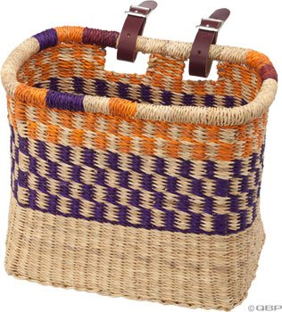 House of Talents Square Bike Basket: Assorted Colors