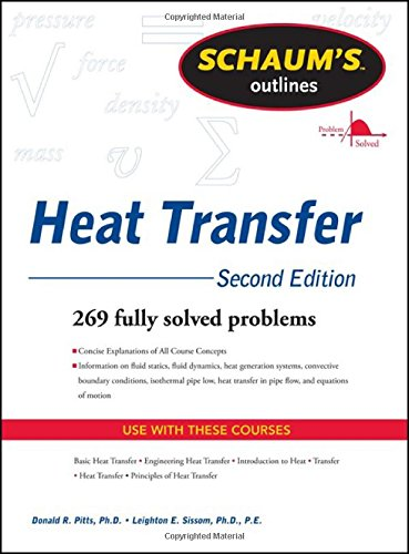 Schaum's Outline of Heat Transfer, 2nd Edition (Schaum's...