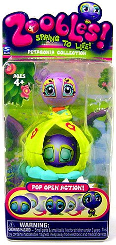 Zoobles Toy Petagonia Animal Mini Figure #4 Roshelle