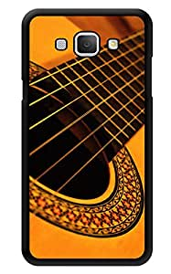 "Humor Gang Guitar Strings Printed Designer Mobile Back Cover For ""Samsung Galaxy A8"" (3D, Glossy, Premium Quality Snap On Case)"
