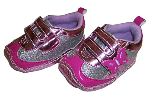 Rising Star Pink Butterfly Sneakers - Infant - 1