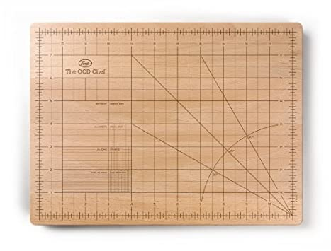 Fred and Friends Obsesssive Chef Cutting Board