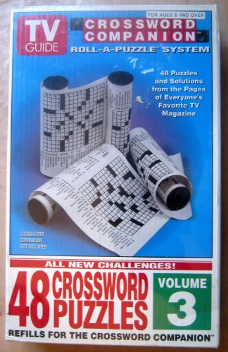Cheap Herbko TV Guide Crossword Companion Roll-a-Puzzle System Volume 3 (B001AYTLIC)