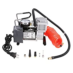 Heavy Duty Portable Multi-function Electric Air Pump Compressor (With Carry bag, Rubber Pipe, Manual & Accessories)