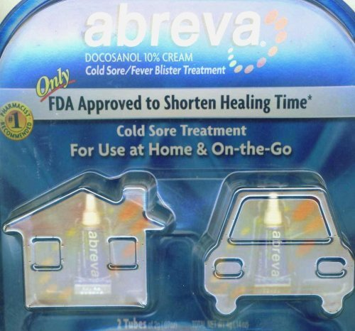 Abreva Cold Sores Fever Blisters Treatment (2gr X 2)