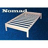 Nomad Solid Hardwood Platform Bed Frame - Twin Size