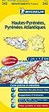echange, troc Collectif Michelin - Carte DPARTEMENTS Hautes-Pyrnes Pyrnes-Atlantiques