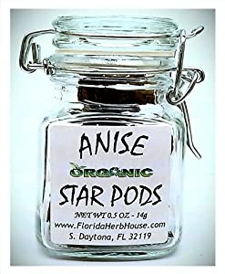 Anise Star Pods 05 Oz 14g - Organic Eco Friendly Gifts - Eco-spices