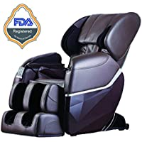Electric Full Body Shiatsu Massage Chair Foot Roller Zero Gravity w/Heat (Multiple Colors)