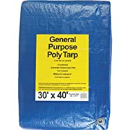 Do it Best GS Tarps 767922 All-Purpose Blue Poly Tarp-30X40 BLUE AP TARP