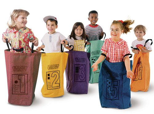 Learning Carpets Jumping Bags - Set Of 6