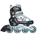 Mongoose Girls In-Line Skates, Large ~ Mongoose