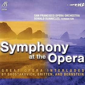 Symphonic Dances From West Side Story: Prologue