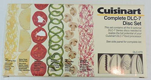 Cuisinart Complete DLC-7 Disc Set 9 Total Discs
