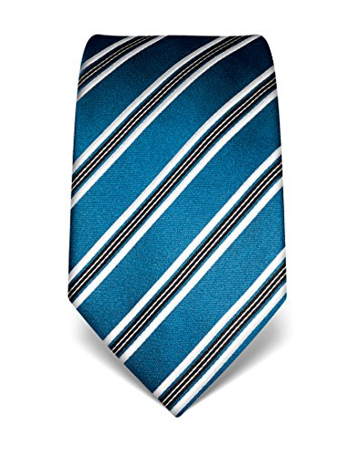 vb-mens-silk-tie-striped-many-colours-availablepetrol