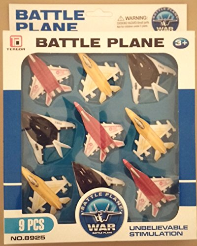 Battle Plane Fighter Set (Nine Planes)