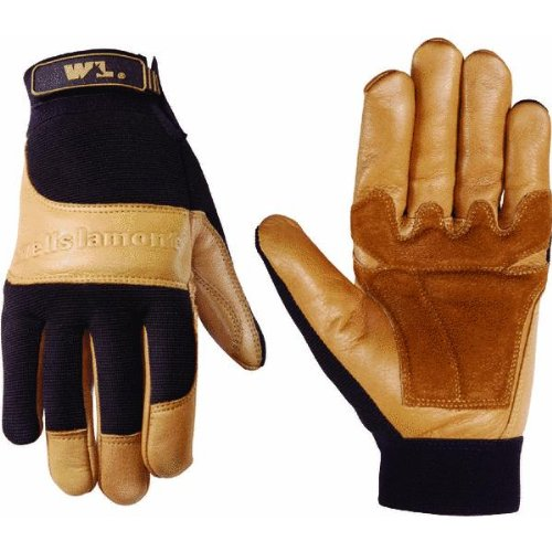 Wells Lamont 7790L Grain Pigskin Lined Leather Palm Glove