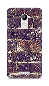 Amez designer printed 3d premium high quality back case cover for Coolpad Note 3 Lite (Brick Wall)