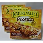 Nature Valley Protein Chewy Bars Peanut, Almond & Dark Chocolate (3 Pack) – 5 Bars Per Pack Reviews