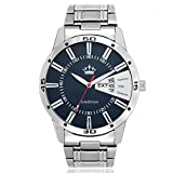 #10: Limestone Analogue Blue Dial Boys And Mens Watch-Ls2647