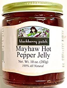 All Natural Mayhaw Hot Pepper Jelly 10 Oz from Blackberry Patch