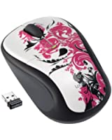 Logitech Wireless Mouse M305 (Floral Spiral) (910-002465)