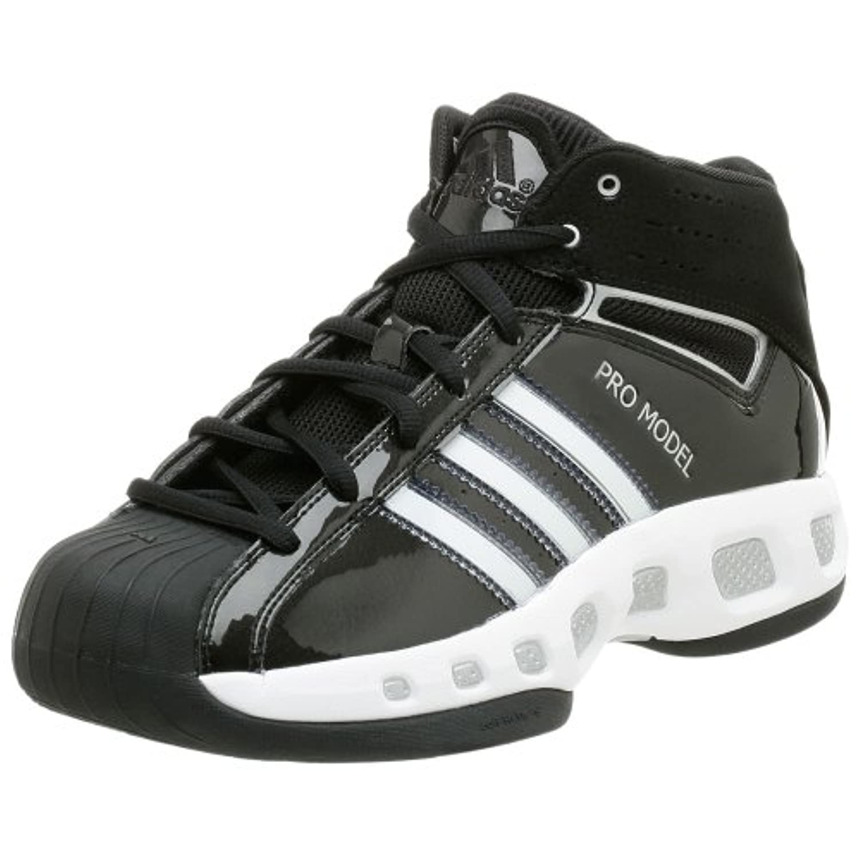 adidas Men's Pro Model Team Color Basketball Shoe,Black ...