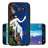 Luxlady Premium Samsung Galaxy S6 Edge Aluminum Backplate Bumper Snap Case Emo in Profile Image 23964966019