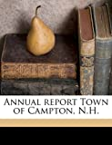 Annual report Town of Campton, N H  Volume 1919
