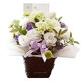 箱を開けたら、すぐに飾れる、お供えアレンジメントです。 お供え・法事・葬式に!お供えアレンジ(小)flower basket for funeral and Buddhist memorial