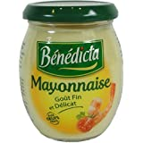 Benedicta Gourmet Mayonnaise, French Mayonnaise, 235g