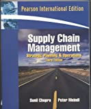 echange, troc Sunil Chopra - Supply Chain Management: Strategy, Planning, and Operation