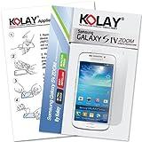 Kolay 10 Pack Samsung Galaxy S4 Zoom Screen Protector Retail Packed