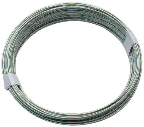 0.9mm X 100m Galvanised Coated Garden Wire By Bulk Hardware