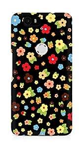 Amez designer printed 3d premium high quality back case cover for Huawei Nexus 6P (Cute Pattern 1)