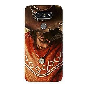Gorgeous Cowboy Multicolor Back Case Cover for LG G5