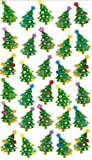 Purple peach sticker sheet for Christmas - xmas trees new