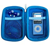 JLAB JPTC83 Samba Travel Case for JBuds J2 Earbuds - Blue