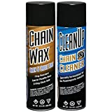 Maxima Racing Oils MA-BCC-WAX Chain Wax Basic Chain Care Aerosol Combo Kit, 29 fl. oz