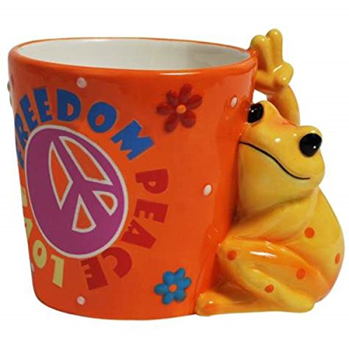 freedom-peace-love-12-oz-coffee-mug-with-frog-and-flowers-design
